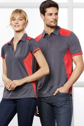 Mens Rival 100% Polyester BIZCOOL Breathable Micro Dry Polo