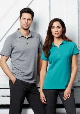 Ladies Profile Cotton-Rich BIZCOOL Comfort Polo Shirt