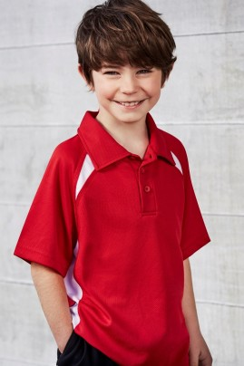 Kids Splice BIZ COOL Polo Shirt