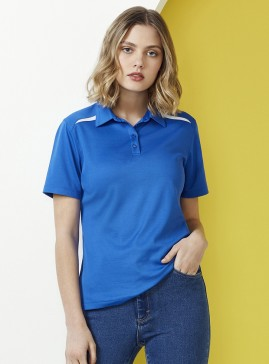 Ladies Sonar Polyester/Cotton BIZ COOL Polo