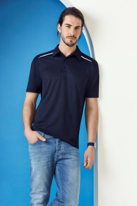 Mens Sonar Polyester/Cotton BIZ COOL Comfort Polo