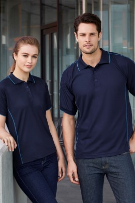 Mens Resort BIZ COOL Polo Shirt