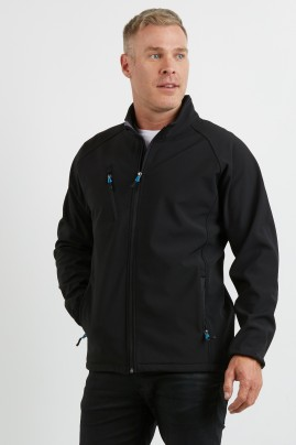 Mens PRO2 Softshell Jacket -   3 layer warmth, water repellent