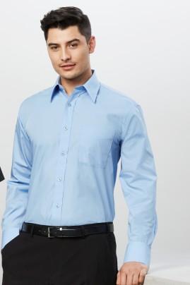 Mens Base Poplin  Long Sleeve Shirt