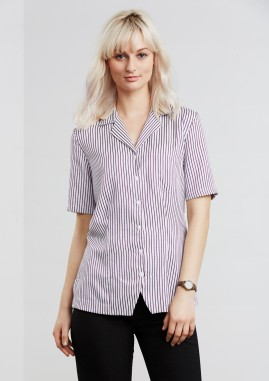 CLEARANCE - Oasis Action Back Striped Overblouse