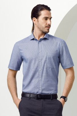 Mens Short Sleeve Cotton-Rich Jagger Shirt