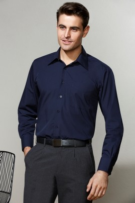 Mens Long Sleeve Metro Shirt