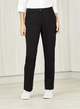 BIZcare Women's Comfort Waist Straight Leg Pant