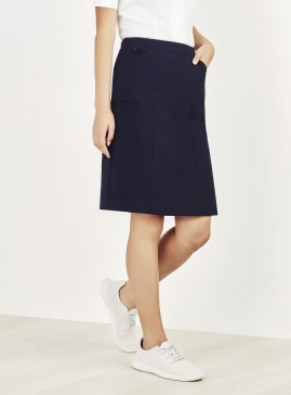 Women's BIZcare Comfort Waist Cargo Skirt
