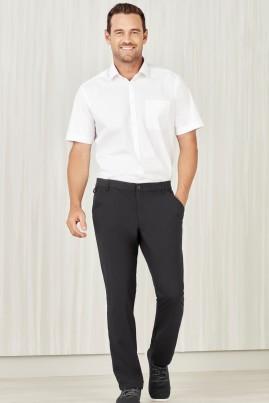 Men's BIZcare Straight Leg, Flat Front Pant