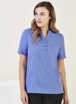 BIZcare Women's Stretch Tunic Top with pockets