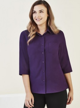 BIZcare Women's 3/4 Sleeve Shirt