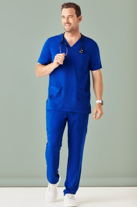 Men's BIZcare Multi-Pocket Scrub Pant