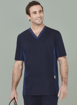 Men's Riley V-Neck Scrub Top