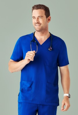 Men's BIZcare V-Neck Scrub Top