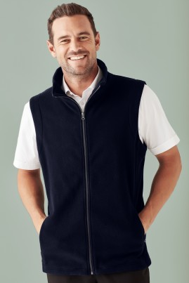 Men's Low Pill Micro Fleece Vest