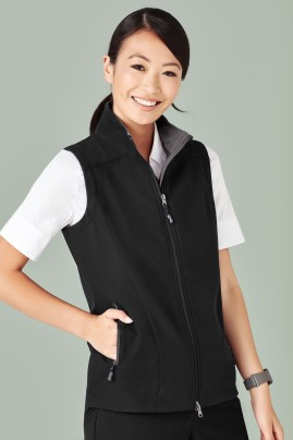 Ladies Geneva BIZ TECH Soft Shell Vest