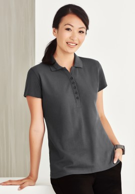 Ladies Crew Classic Pique Polo Shirt