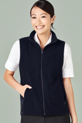 Ladies Low Pill Micro Fleece Vest