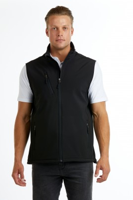 Men's PRO2 Softshell Vest - Black