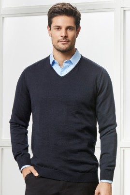 Mens Milano 50% Wool Machine Washable Pullover
