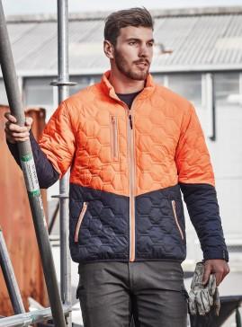 SYZMIK Hexagonal Puffer Jacket