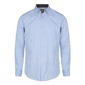 Bradford Fine Oxford Long Sleeve Slim Fit Shirt - Men