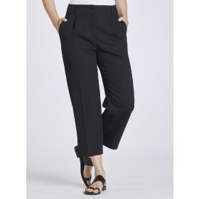 Women's Waisted Cropped Trousers
