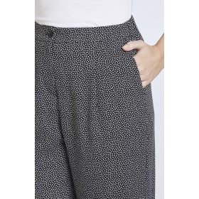 Speckle Print Soft Pants