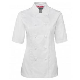 Ladies Short Sleeve Chef Jacket