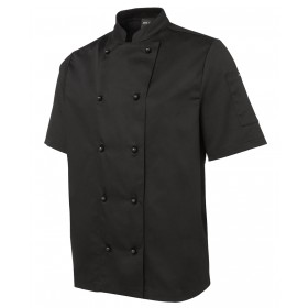 UNISEX 5CJ2 Short Sleeve Polycotton Chef Jacket
