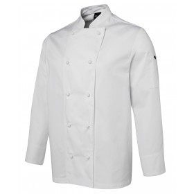 UNISEX Long Sleeve Polycotton Chef Jacket
