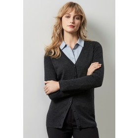 Ladies Milano 50% Wool Machine Washable Cardigan