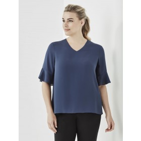Women's Aria Fluted Sleeve Blouse