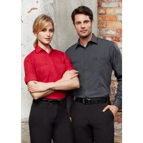 Ladies Bondi Roll-Up Long Sleeve Shirt
