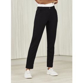 BIZcare Women's Comfort Waist Slim Leg Pant