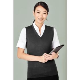 Ladies Milano Machine Washable Wool Blend Vest