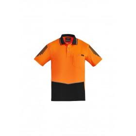 Men's Hi Vis Flux Short Sleeve Polo