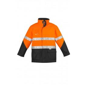 SYZMIK  Hi Vis Storm Jacket - Quilt lined for warmth