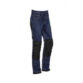 Mens Heavy Duty Cordura Stretch Denim Work Jeans