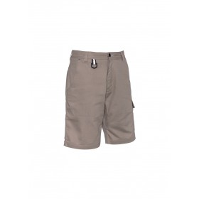 Mens Rugged Cooling Vented 100% Cotton  Short