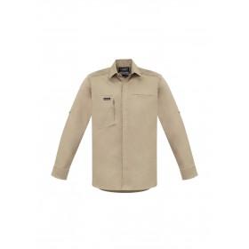 Mens Streetworx  Stretch Long Sleeve Shirt