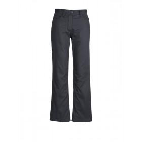 Ladies 100% Cotton Twill  Plain Utility Pant