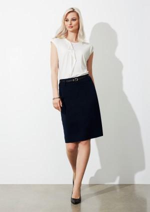 Ladies Loren Knee-length Stretch Skirt