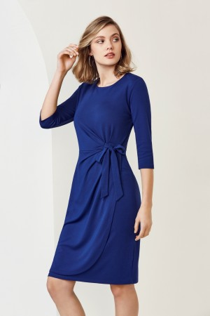 Ladies Paris Dress Soft Knit Jersey