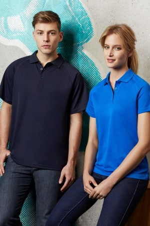 Ladies Sprint BIZ COOL Mesh Polo