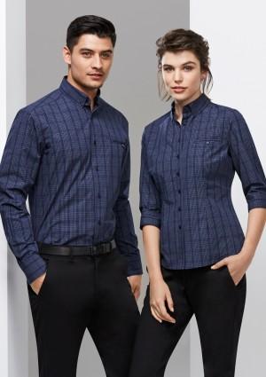 Ladies Harper 3/4 Sleeve Check Shirt