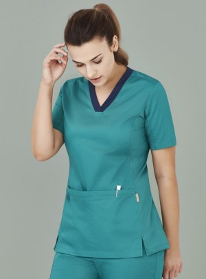 Women's Riley V-Neck Scrub Top